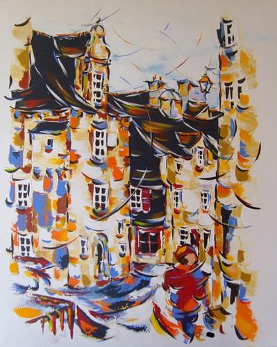 Auberge Notre Dame de Rumengol 100x80  Vendu