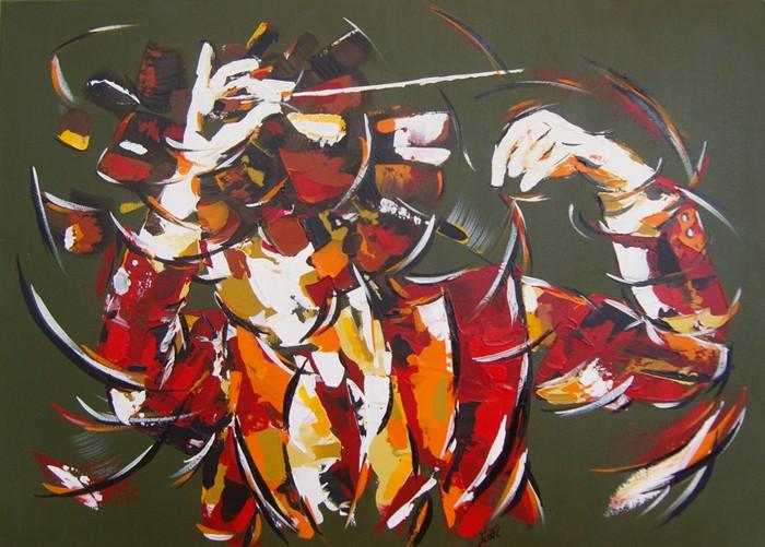 Chef d'orchestre 1 70x50  Vendu