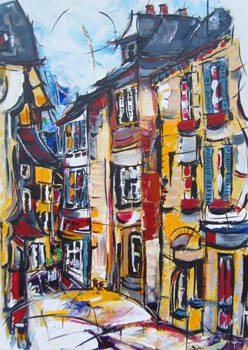 Rue Saint Thomas 70x50  Dispo